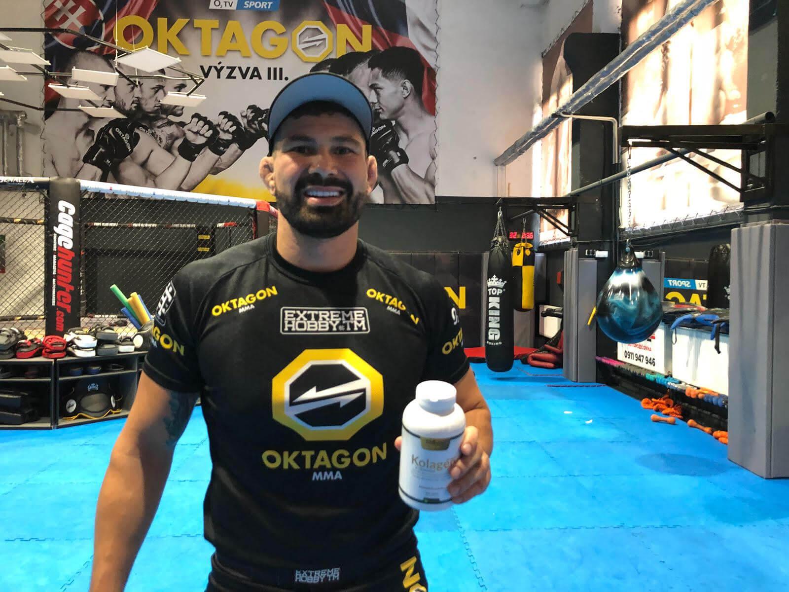 ATILLA VÉGH | MMA zápasník s kolagenom