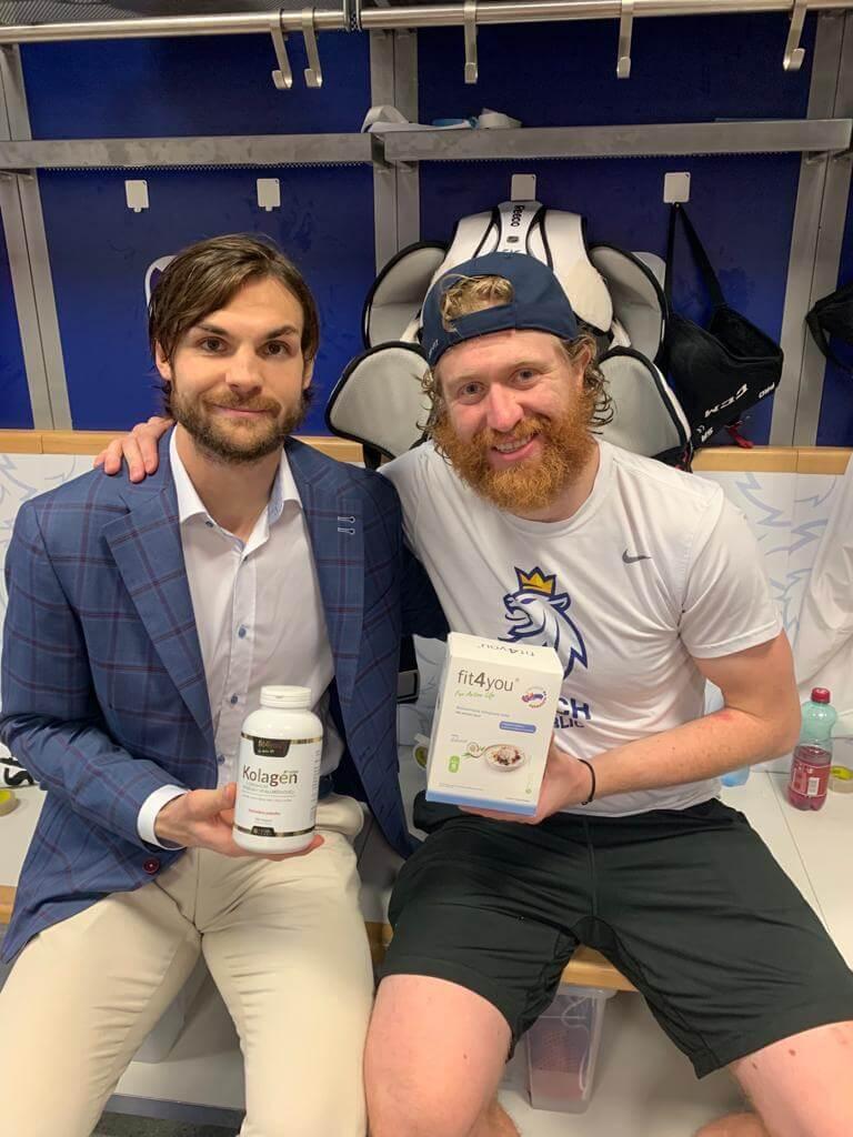 M. FROLIK & J. VORÁČEK | Hokejisti s kolagenom